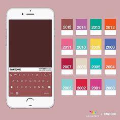 color del año x año
