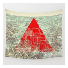 Rusty Future Wall Tapestry ($39) ❤ liked on Polyvore featuring home, home decor, wall art, wall tapestries, home wall decor, angel wall art, outdoor wall art and outdoor home decor