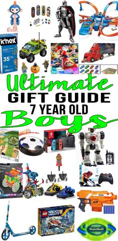BEST Gifts 7 Year Old Boys Top Gift Ideas That Yr Will