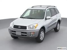 Toyota RAV4 2001.  So much love.  Best car I've EVER had.  This was my dream car for about ten years and I finally got one!  My mother-in-law is wonderful and has excellent taste.  :-)