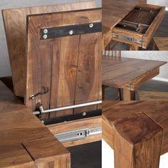 Billig Esstisch Massivholz Ausziehbar Mit Bildern Esstisch