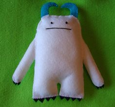 Yeti  Monster of the Snow  Blue Horned Yeti from the by MonsterDen