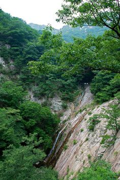 Eunseon Pokpo (Eunseon Falls), Gyeryongsan National Park near Daejeon, South Korea