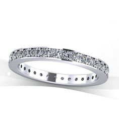 Platinum Diamond Eternity Band Jewelry