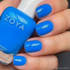 """⚜️ Larissa ⚜️ on Instagram: """"*pr* - """"Echo"""" by @zoyanailpolish from the Easy Neons Collections.  Slides 1 and 2 show this color at 3 coats + a glossy top coat. Slide…"""" Top Coat, Nail Polish, Collections, Neon, Coats, Easy, Instagram, Wraps, Nail Polishes"""