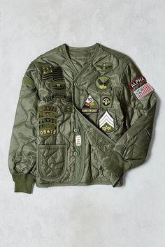 2bf3a993b6f3 Alpha Industries 50th Anniversary M-65 Liner Jacket