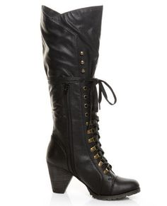 Because one River Song costume isn't enough -- boots from Let's Kill Hitler. (also, just awesome)