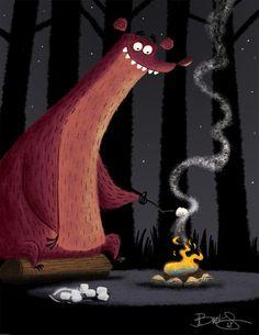 James Burks #illustration #character #design