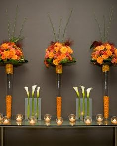 Elements of the Heart: Fabulous Fall Wedding Reception Ideas