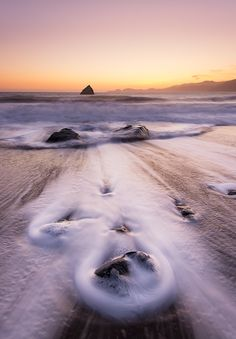 Marshall Beach, California, USA.
