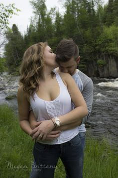 #engagementpictures #love #weddingcountdown #serenity #excited #friends #family #engagementring #engagementshot #peaceful #nature #outside #waterfall #rapids #summershoot #perfect #coupleshot #beautiful Engagement Shots, Engagement Pictures, Stunning Women, Beautiful, Wedding Countdown, Hot Couples, Girls Wear, Friends Family, Serenity