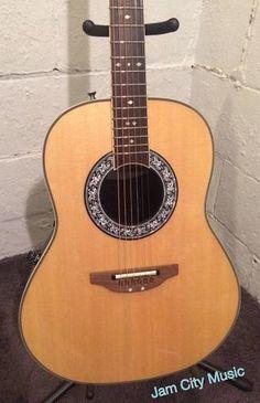 Ovation 1627VL-4 Vintage Lyrachord Shallow Bowl Acoustic-Electric Guitar