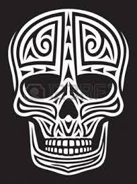 Illustration of skull ornament skull in tattoo style, tattoo skull, tribal skull vector art, clipart and stock vectors. Airbrush, Skull Coloring Pages, Shrink Art, Skull Wallpaper, Free Stencils, Skull Face, Silhouette Vector, Halloween Skull, Skull And Bones