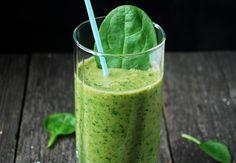 Ulrika Davidssons forbrenningsdrink er en grønn juice full av sunne saker.