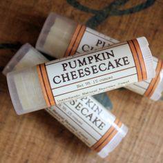 Pumpkin Cheesecake Lip Balm - Long Winter Soap Co.--this is the BEST lip balm everrrrrrrrrrrr