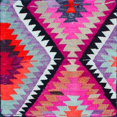the colors, the pattern - love this!