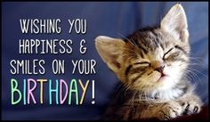 Send This FREE Birthday Smiles ECard To A Friend Or Family Member Free