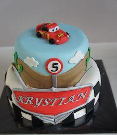 Cars taart  Cars cake