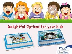 Make your Kids #Birthday Special with Delicious #Kids #Cakes @ Best Price - https://www.giftjaipur.com/kids-Special