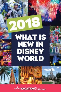 Up to date on the newest dining, attractions, and shopping coming to Disney World in 2018. The perfect guide for what is new at Disney World in 2018. #disneyworldplanning #disney2018 #disneyworld