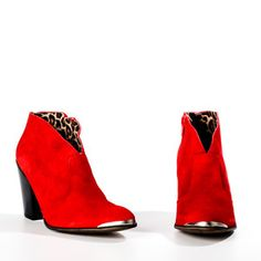 Cubala Red now featured on Fab. I don't normally like shoes like these, but the color is awesome