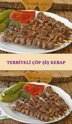A kebab skewers you can easily stir-fry recipes such as delight . The secret is hidden in the finishing . Kebab Skewers, Shish Kebab, Turkish Recipes, Italian Recipes, Kebab Recipes, Turkish Kitchen, Breakfast Items, Best Appetizers, Pasta