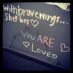 Amy Rae Elifritz, 10/16/89 - 6/13/10  This is the chalk drawing on the back of my daughters tombstone today. Two years ago today Amy walked into the hospital not knowing that she'd never walk out alive. Her life was taken two days later by Toxic Shock Syndrome from a regular absorbency Playtex tampon. Click on the link to read more. Please, please share with your daughters and friends!