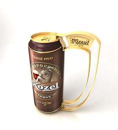 Нolder for beer tin on Behance