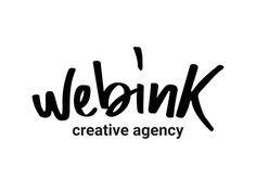 this is my latest visual identity project, Webink. it is a creative agency that offers services both online and offline(the connection is in also in the name). tell me what you think