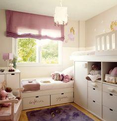 Двухъярусные кровати. 16 примеров экономии пространства в детской комнате