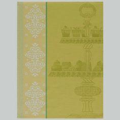Delices Lemon Tea Towel, $24, from Le Jacquard Francais