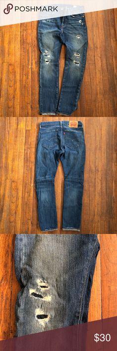 Levi's jeans Levi's jeans. Slim straight 31x32 stretch denim Levi's Jeans Slim Straight