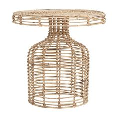 Shop My New Garden Collection For CielShop Interiors - WeLoveHome - Home Rattan Coffee Table, Iron Coffee Table, Rattan Side Table, Round Side Table, Side Tables, House Doctor, Wicker Furniture, Table Furniture, Furniture Design
