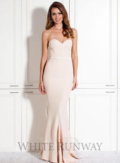 cca56fe99c1 Nude Arianna Dress Formal Bridesmaids Dresses