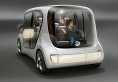 EDAG electric light car sharing concept