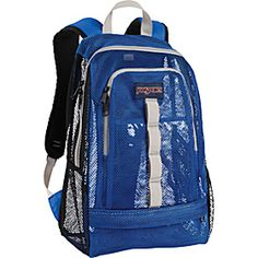 ◘ Jansport Beamer Schulrucksack Black Blue Streak Perry Plaid ...