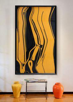 现代艺术纤维立体工艺画 欧美风格装饰画玄...