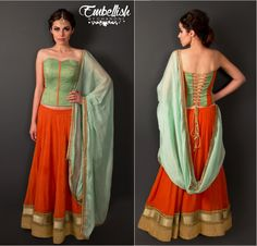 Embellish by Chandni Info & Review | Bridal Wear in Delhi NCR | Wedmegood | lehnga | corset