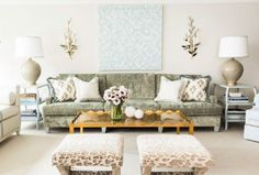 Number one: You'll want to invest in upholstery.