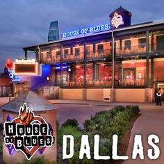 When it starts to get chilly in Texas, live indoor music venues are the place to be! I love the House of Blues in Dallas. Any black leather motto boots and bucket bag would perfectly fit the vibe. House Of Blues Dallas, Places To See, Places Ive Been, Stuff To Do, Things To Do, On The Road Again, Dallas Texas, Places Around The World, Vacation Spots