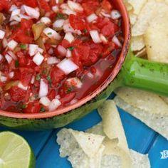 Lazy Man's Salsa Recipe - Southern Bite & ZipList