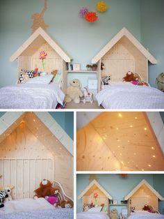 Home en Hotspotloving: Lieve bed-huisjes..