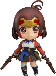 KABANERI OF THE IRON FORTRESS NENDOROID ACTION FIGURE MUMEI 10 CM ( GOOD SMILE COMPANY )