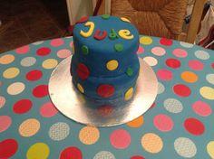 Jude's first birthday cake yum!