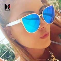 >> Click to Buy << SHAUNA 100% Polarized Oversized Women Cat Eye Sunglasses Fashion Reflective Lens Sun Glasses  #Affiliate