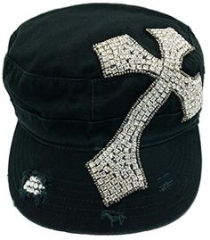 Cap Couture Women's Cross Cadet Hat One Size Cap Couture http://www.amazon.com/dp/B00P9YHA2S/ref=cm_sw_r_pi_dp_ngSwub0WQ70V8