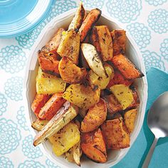 Roasted Winter Vegetables #recipe