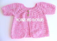 Crochet Cardigan #crochet #cute