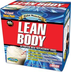 Labrada Lean Body Original MRP 42 Pack - Meal Replacement Powders (MRPs) - Protein - Sports Nutrition & More