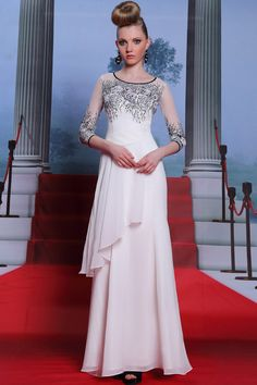 Hurry white prom dresses on sale, we offer short white prom dress for any party and occasion. get stunning look with prom dresses at very reasonable price online. Prom Dresses With Sleeves, A Line Prom Dresses, Cheap Prom Dresses, Homecoming Dresses, Formal Dresses, Cheap Dress, Dress Prom, Bride Dresses, Dance Dresses